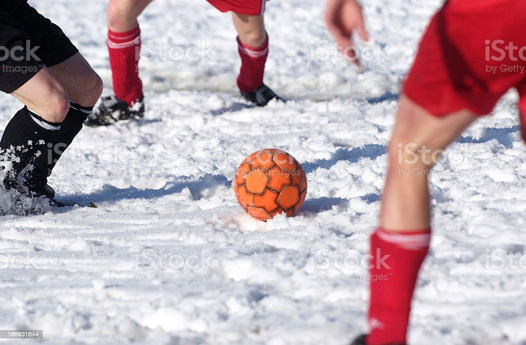 Soccer duell royalty-free stock photo