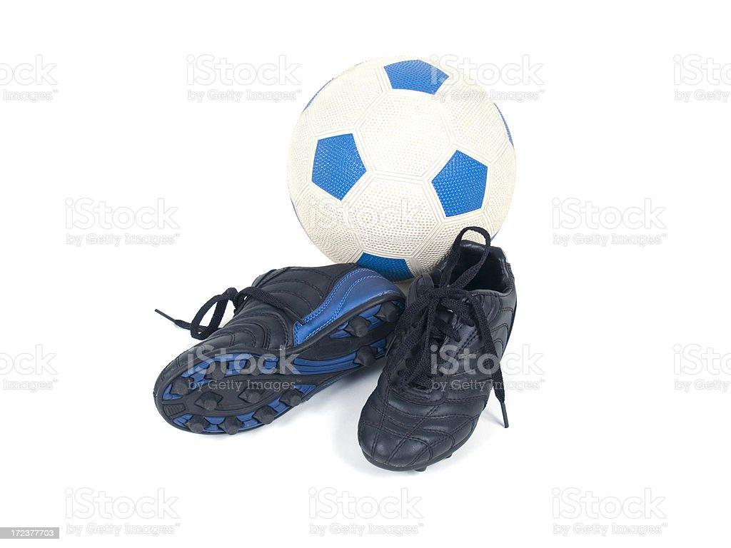 Soccer Equipment stock photo