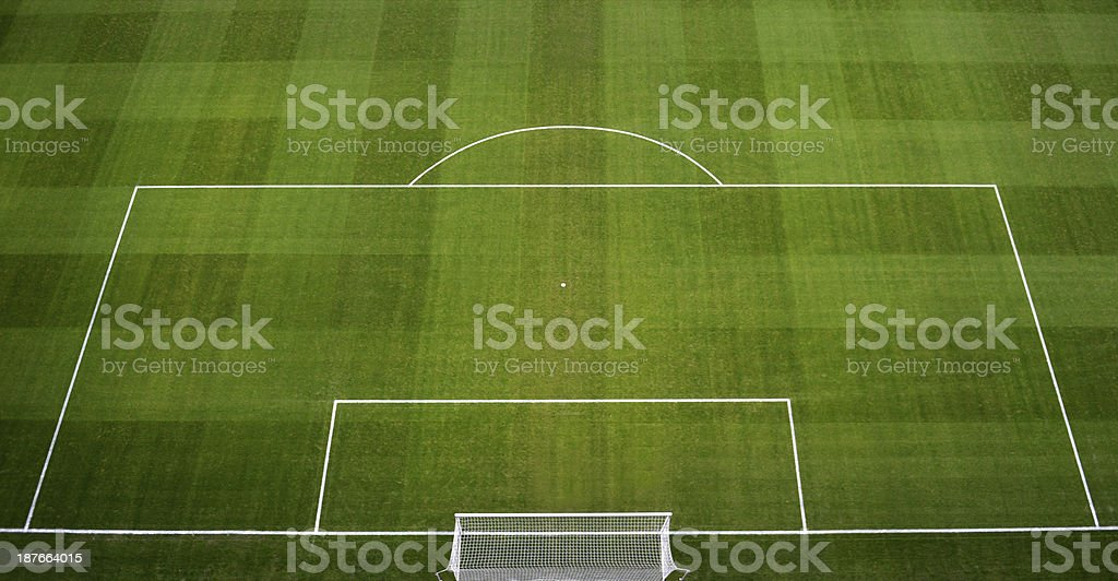 Soccer Field / Footbal Pitch stock photo