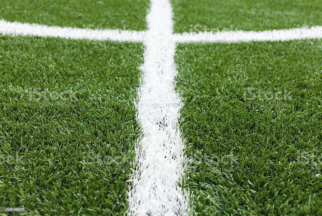 soccer field grass royalty-free stock photo