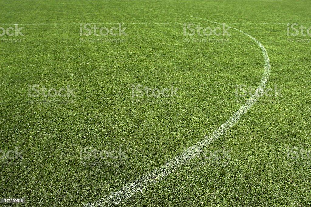 Soccer field II royalty-free stock photo