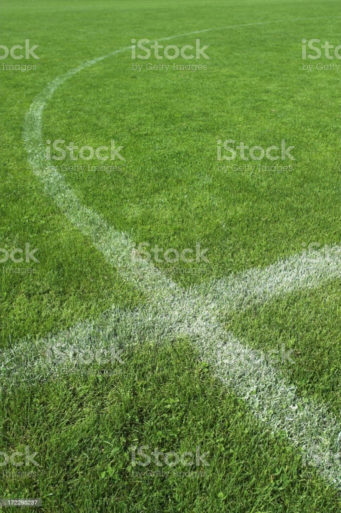 Soccer field IV royalty-free stock photo