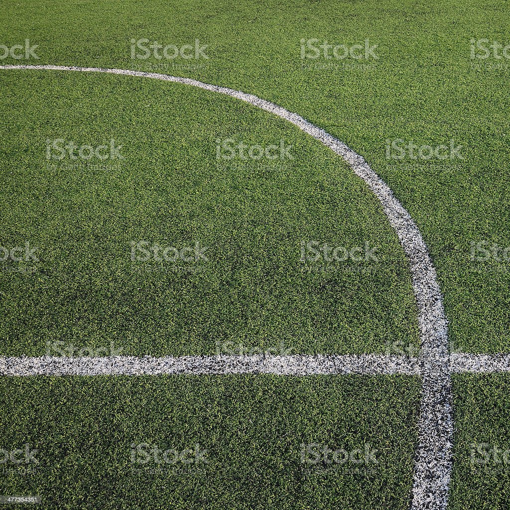 soccer field, sport game background for design royalty-free stock photo