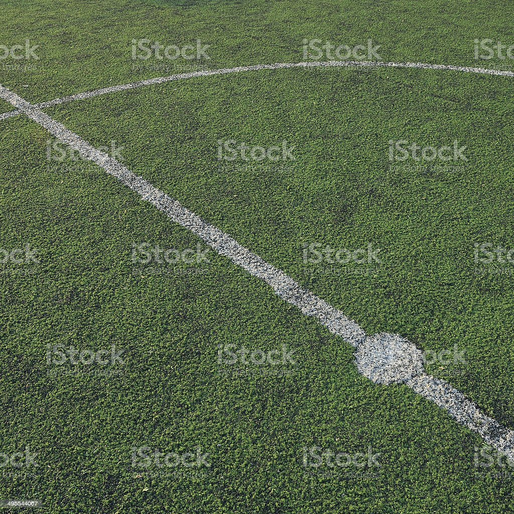 soccer field, sport game background royalty-free stock photo
