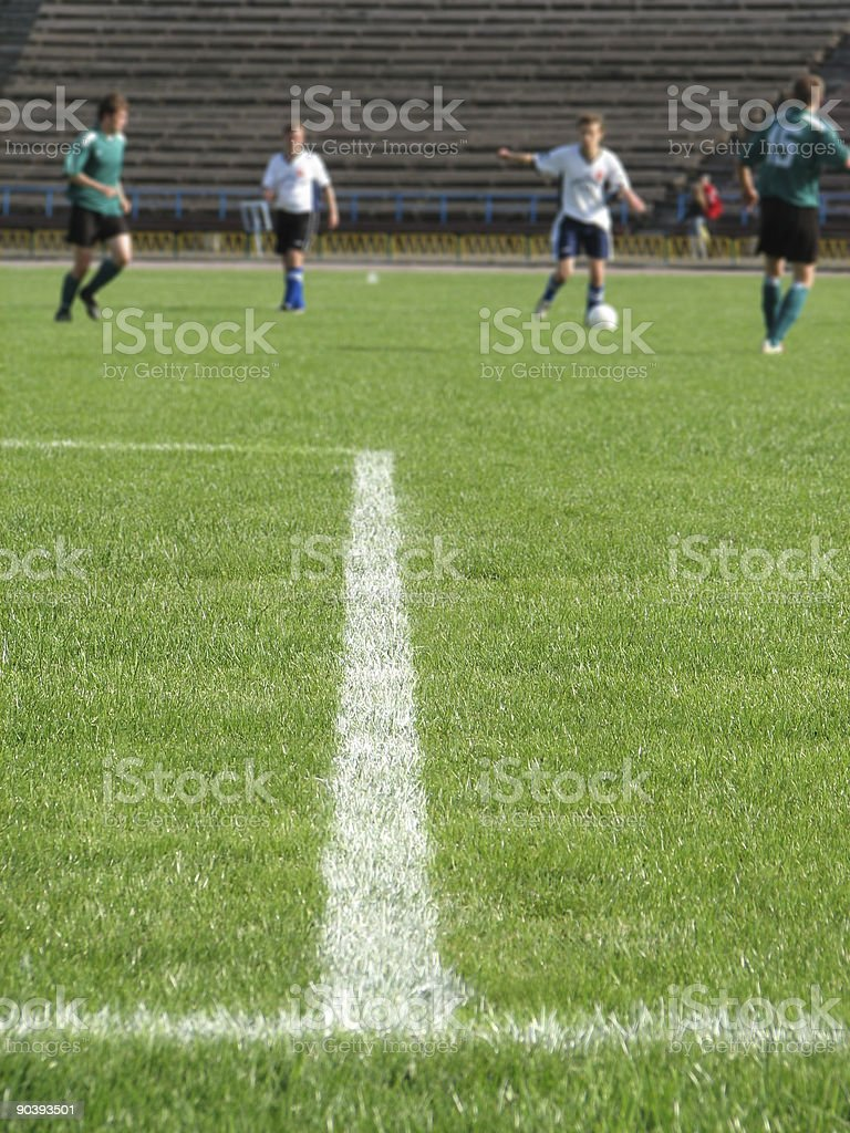 soccer filed royalty-free stock photo