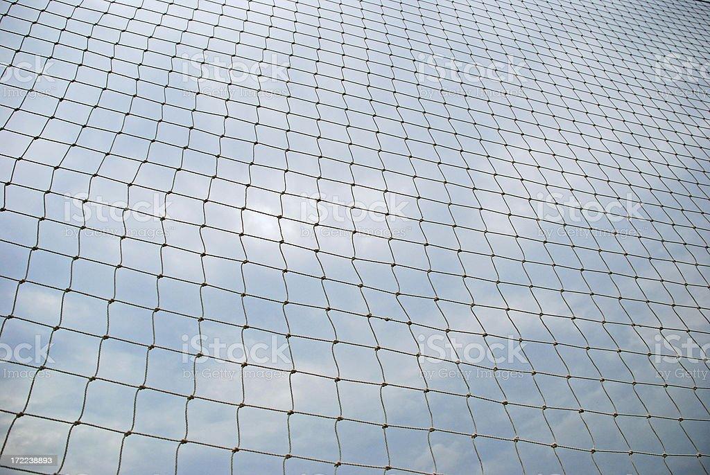 Soccer Football Net royalty-free stock photo