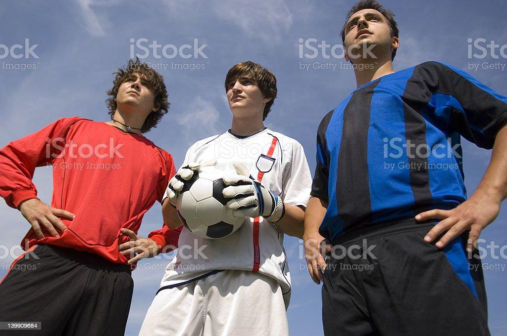 Soccer - Football Players royalty-free stock photo