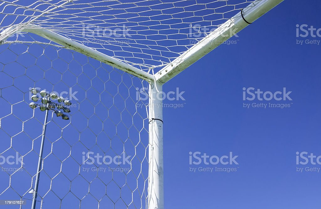 Soccer Gate royalty-free stock photo