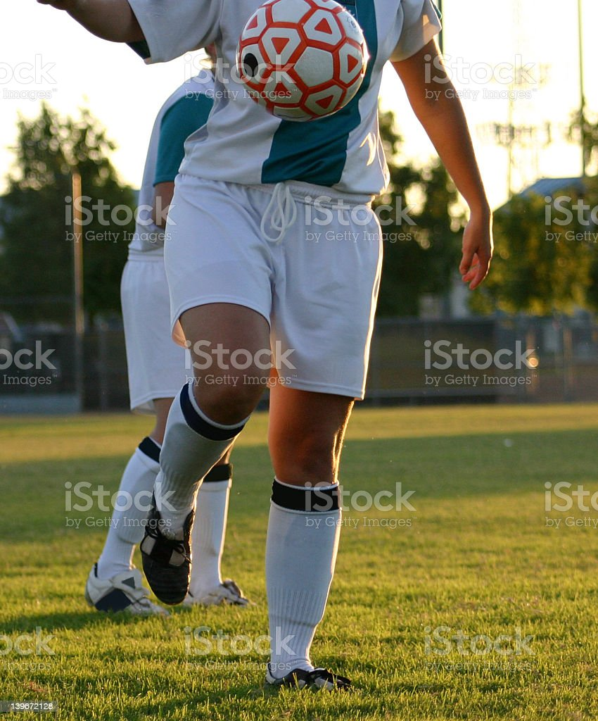 Soccer Girl royalty-free stock photo