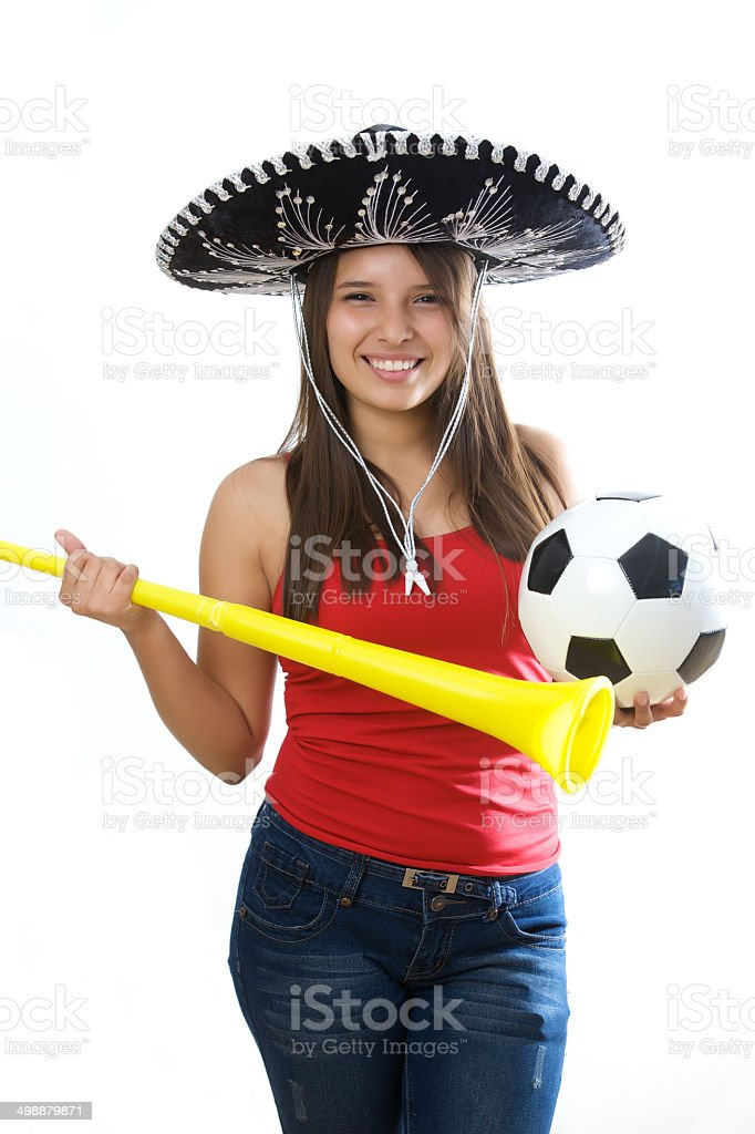 Soccer Girl royalty-free stock photo