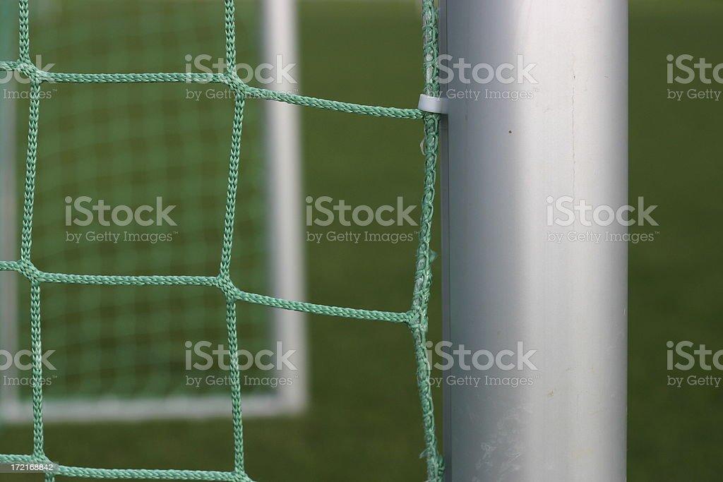 Soccer Goal 4 royalty-free stock photo