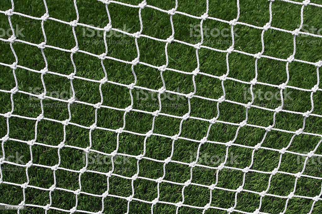 Soccer Goal Net stock photo