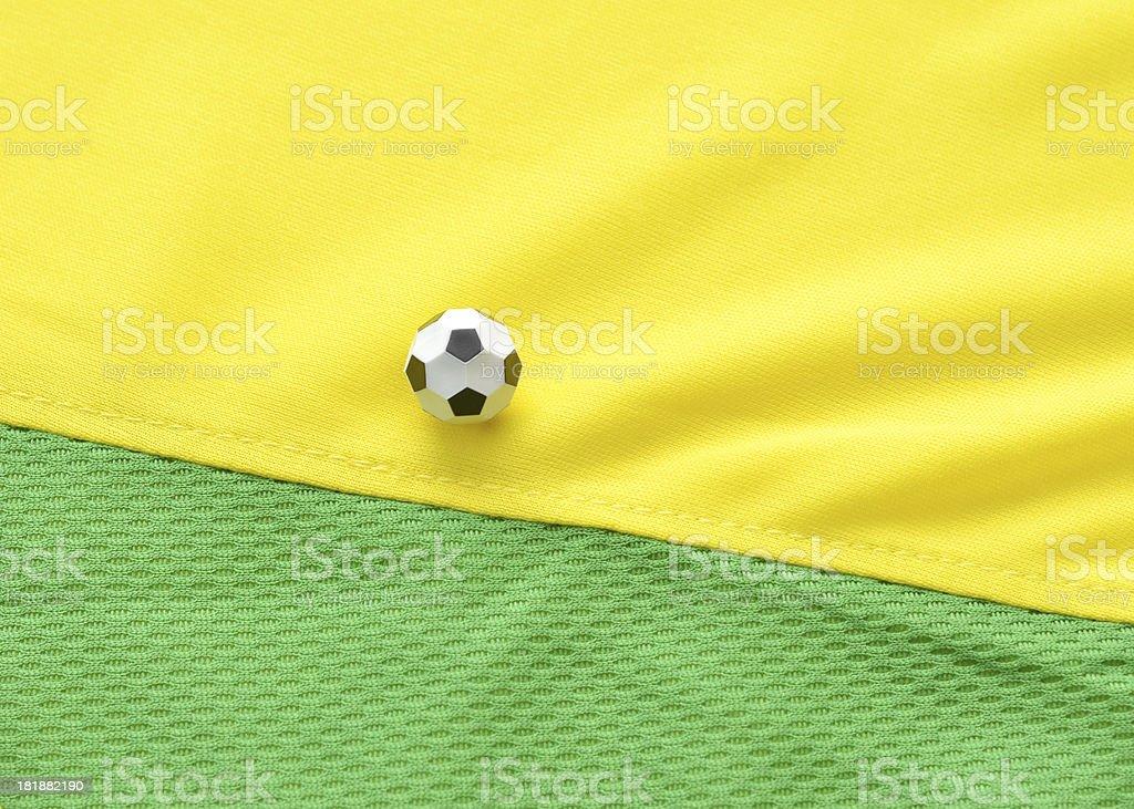 Soccer in Brazil royalty-free stock photo