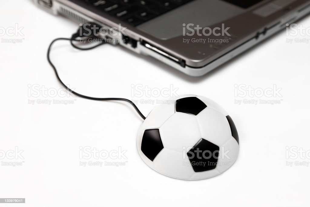 Soccer live stock photo