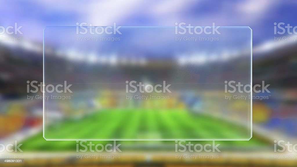 soccer match time table stock photo