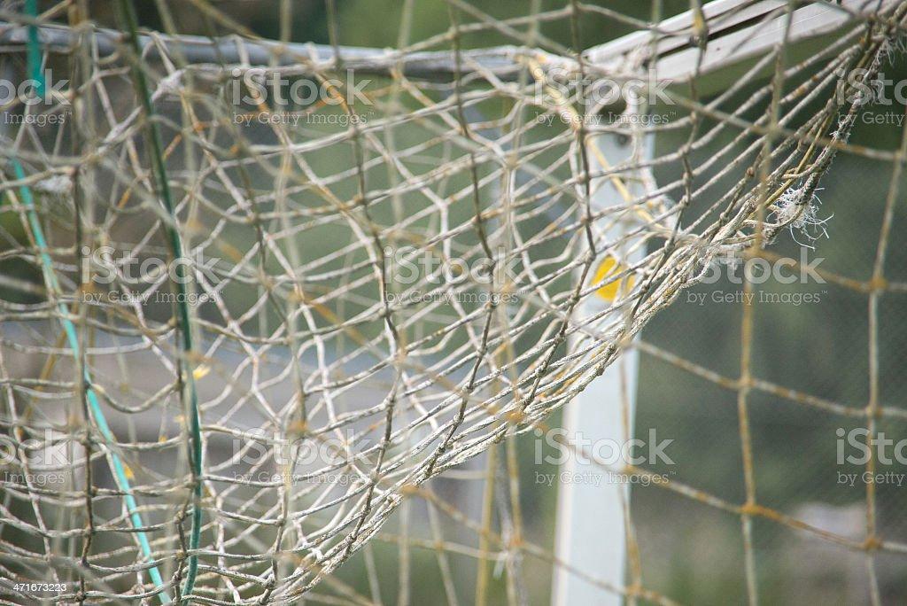 soccer net - Fu?balltor royalty-free stock photo