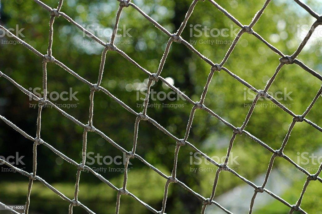 Net de fútbol foto de stock libre de derechos