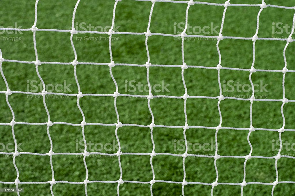 Soccer Net stock photo