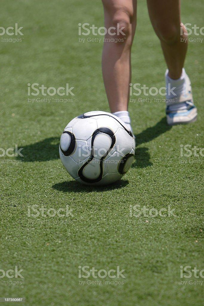 Soccer royalty-free stock photo