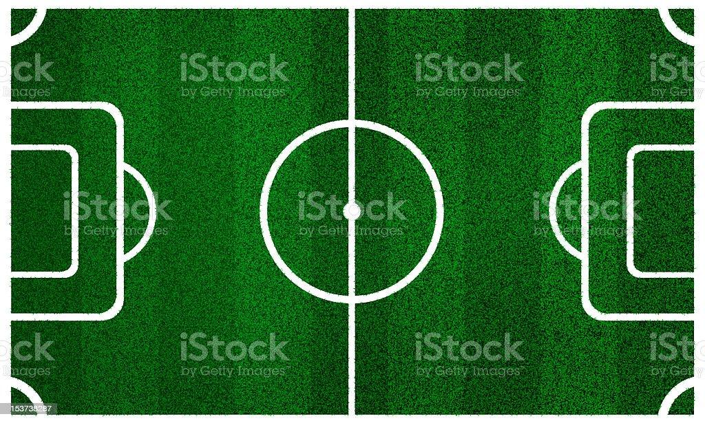 Recorrido de vista superior de campo de fútbol foto de stock libre de  derechos 249112be75bf6