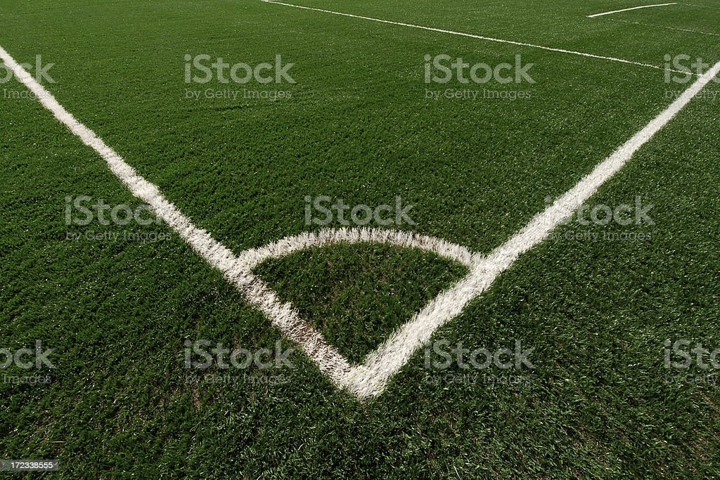 soccer pitch royalty-free stock photo
