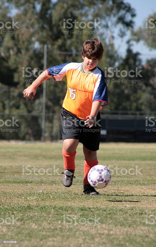 Soccer Player 6 royalty-free stock photo