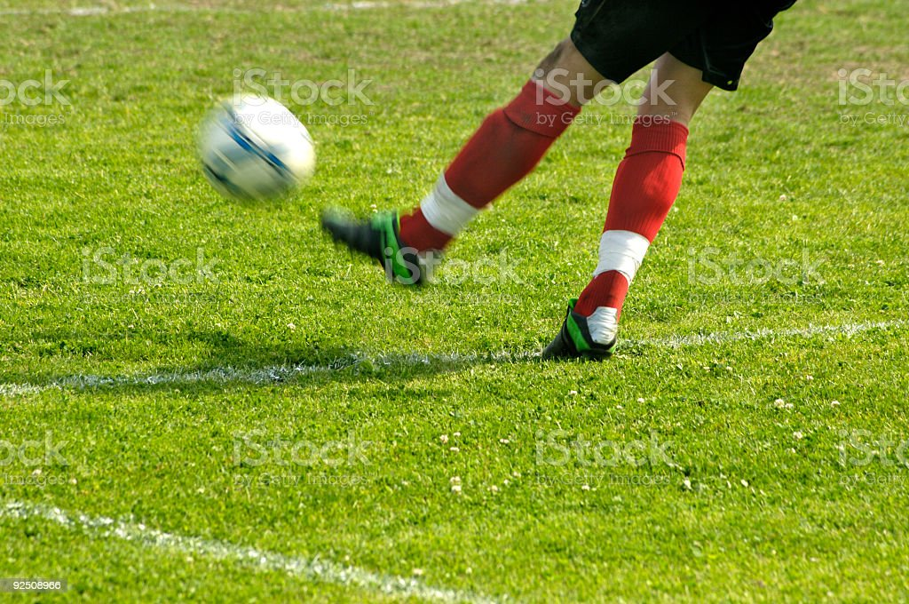 Soccer player II royalty-free stock photo