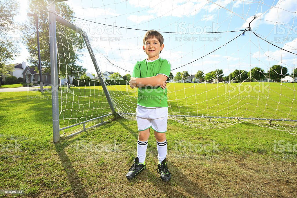 Soccer - Player royalty-free stock photo