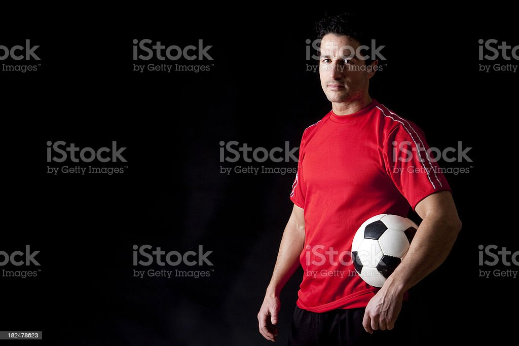 Soccer Player royalty-free stock photo
