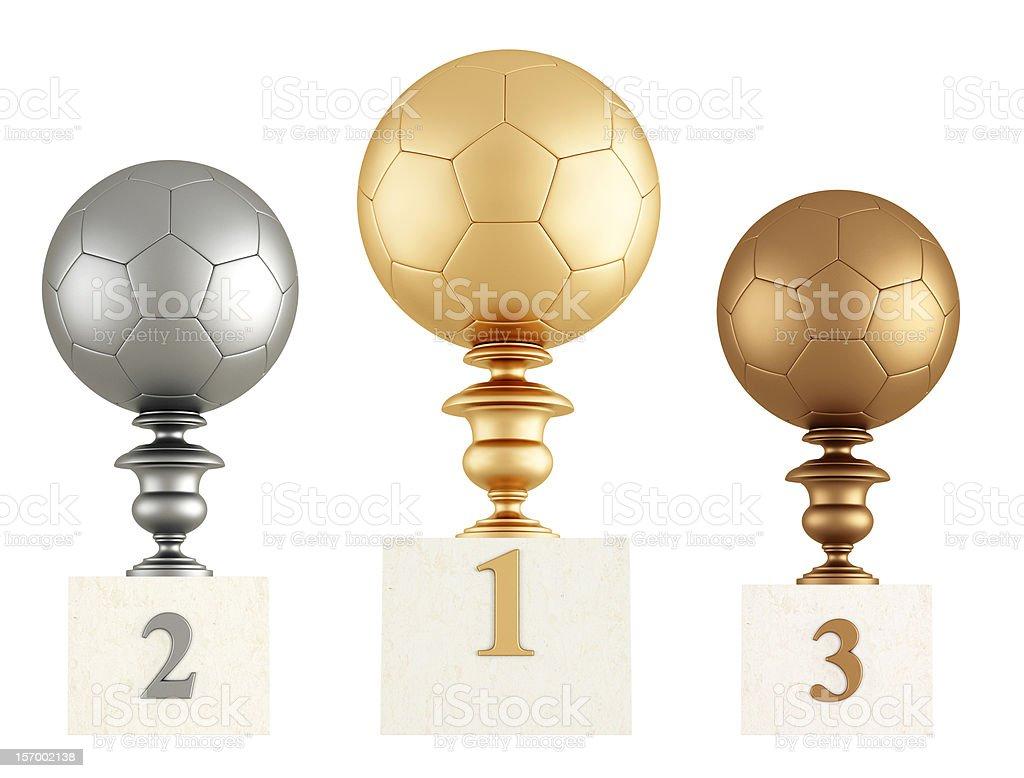 soccer podium royalty-free stock photo