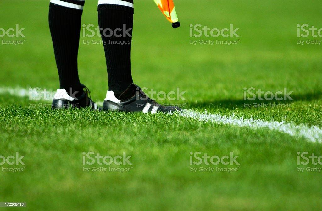 Soccer Referee stock photo