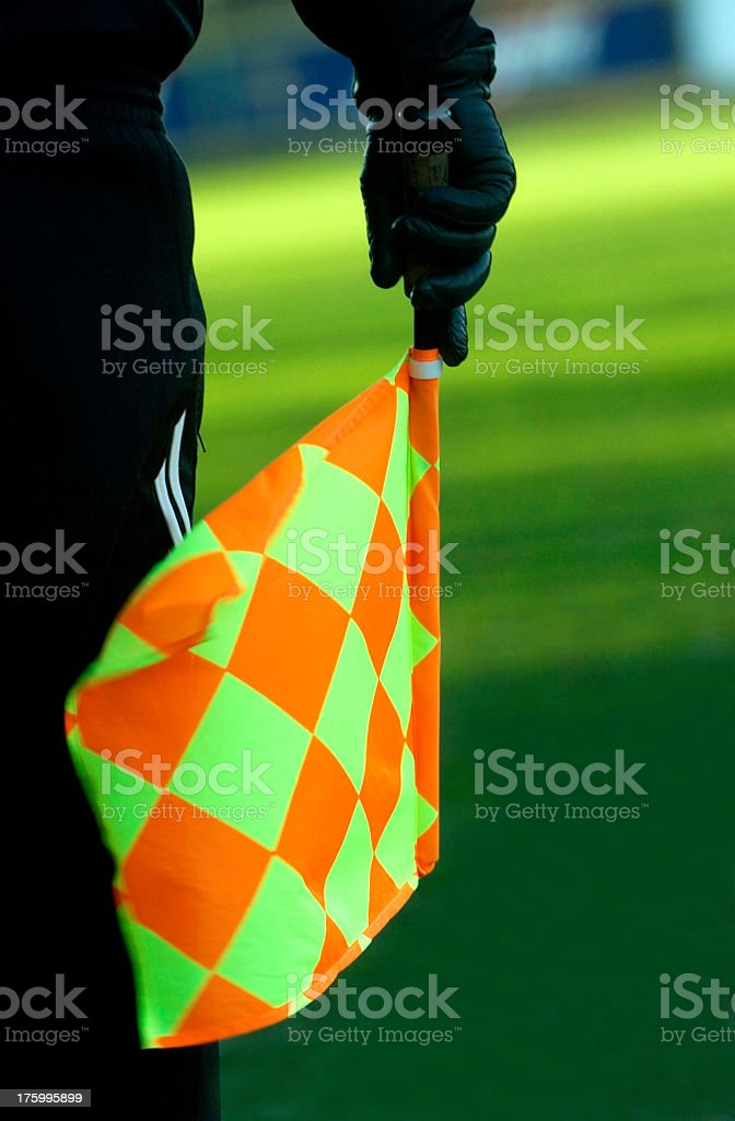 Soccer Referee royalty-free stock photo