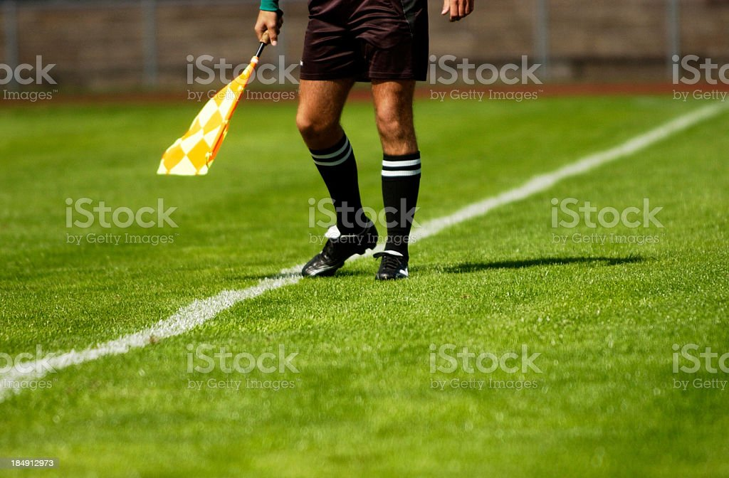 Soccer Referee royalty-free stock photo