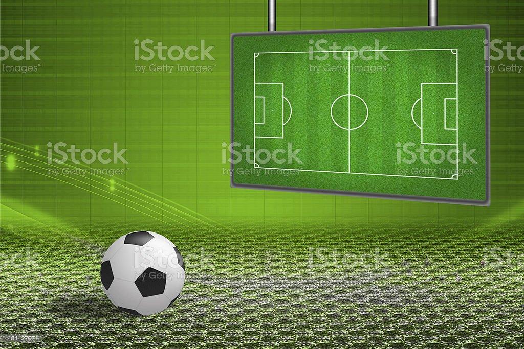 soccer room stock photo