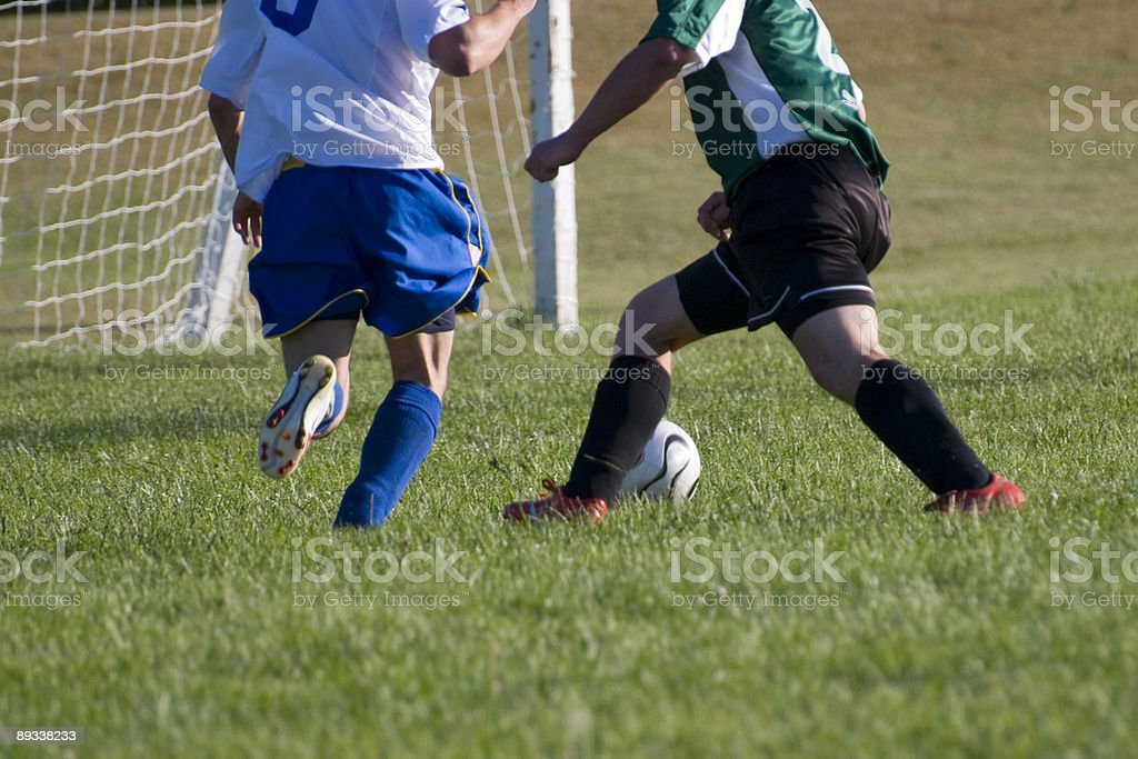 Soccer Score stock photo