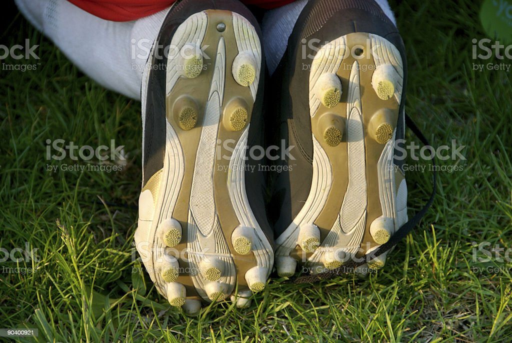Soccer Shoe Cleats royalty-free stock photo