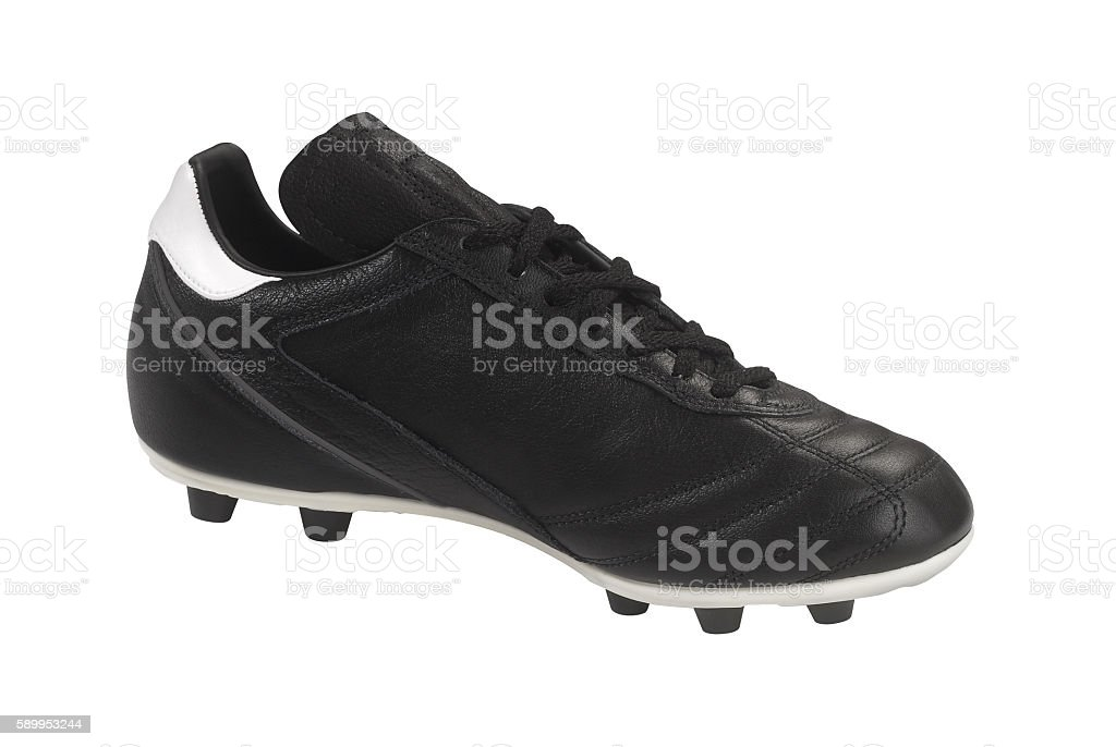 Soccer shoe isolated stock photo