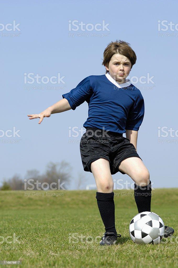 Soccer skills royalty-free stock photo