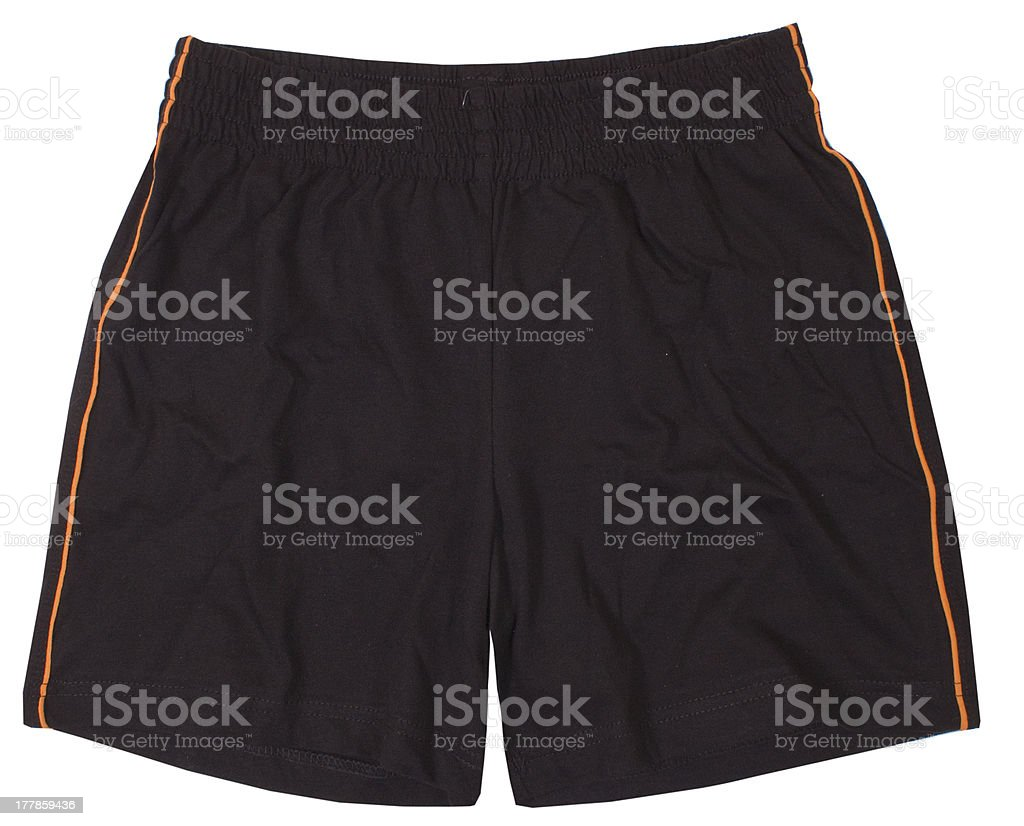 Soccer sport shorts. stock photo