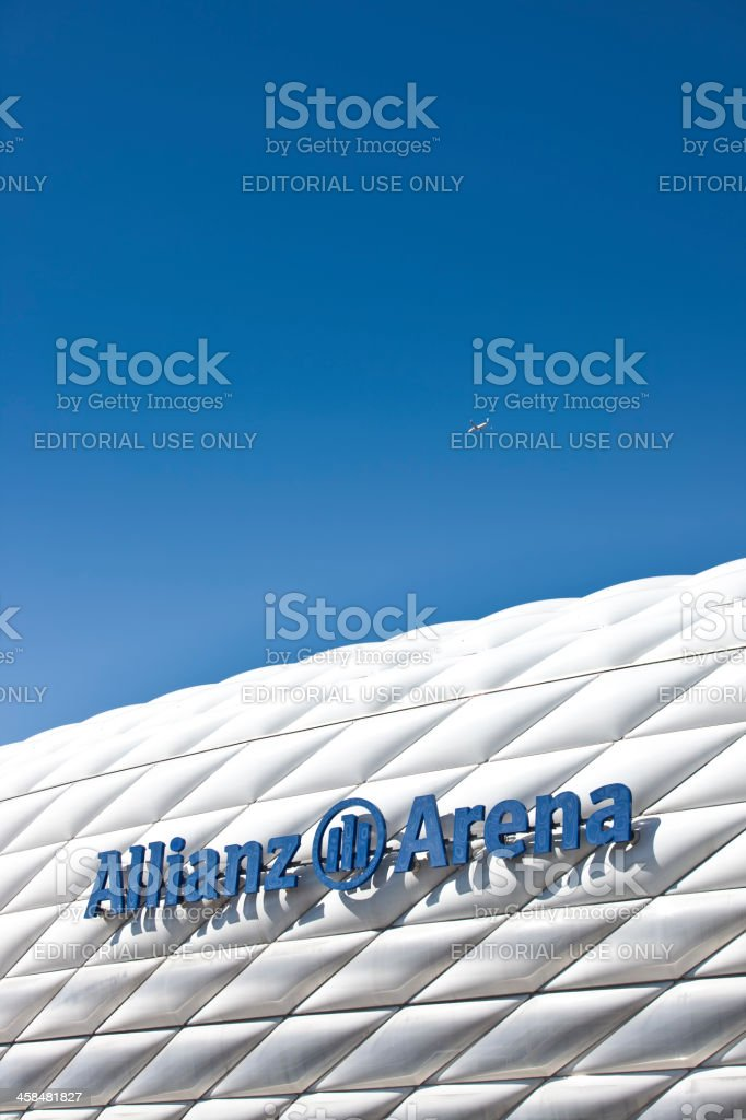 Soccer Stadium in Munich stock photo