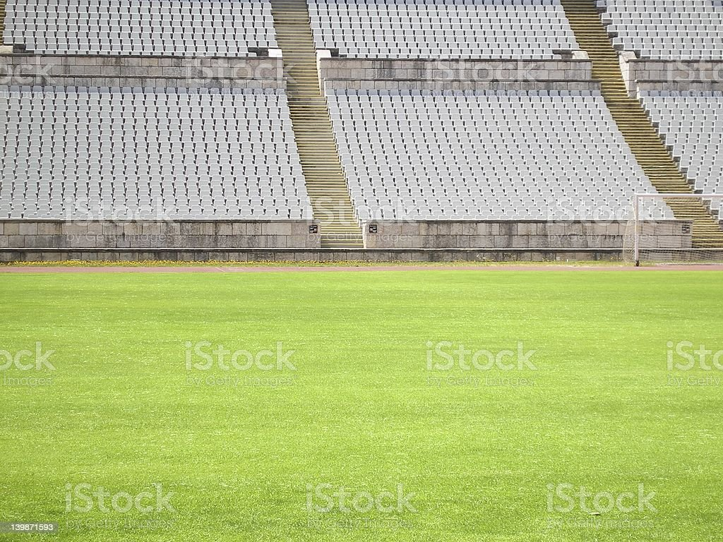 Soccer Stadium royalty-free stock photo
