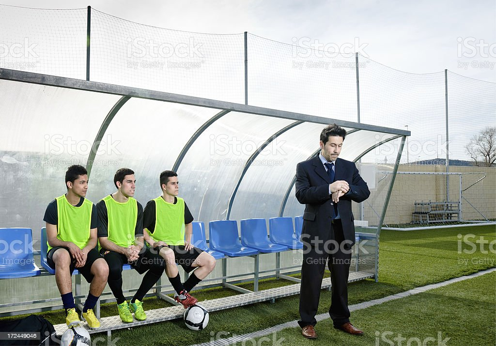 Soccer Stadium royalty-free stock photo