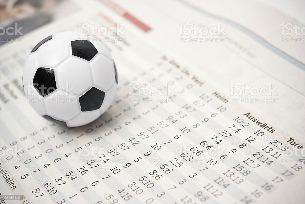soccer stats stock photo