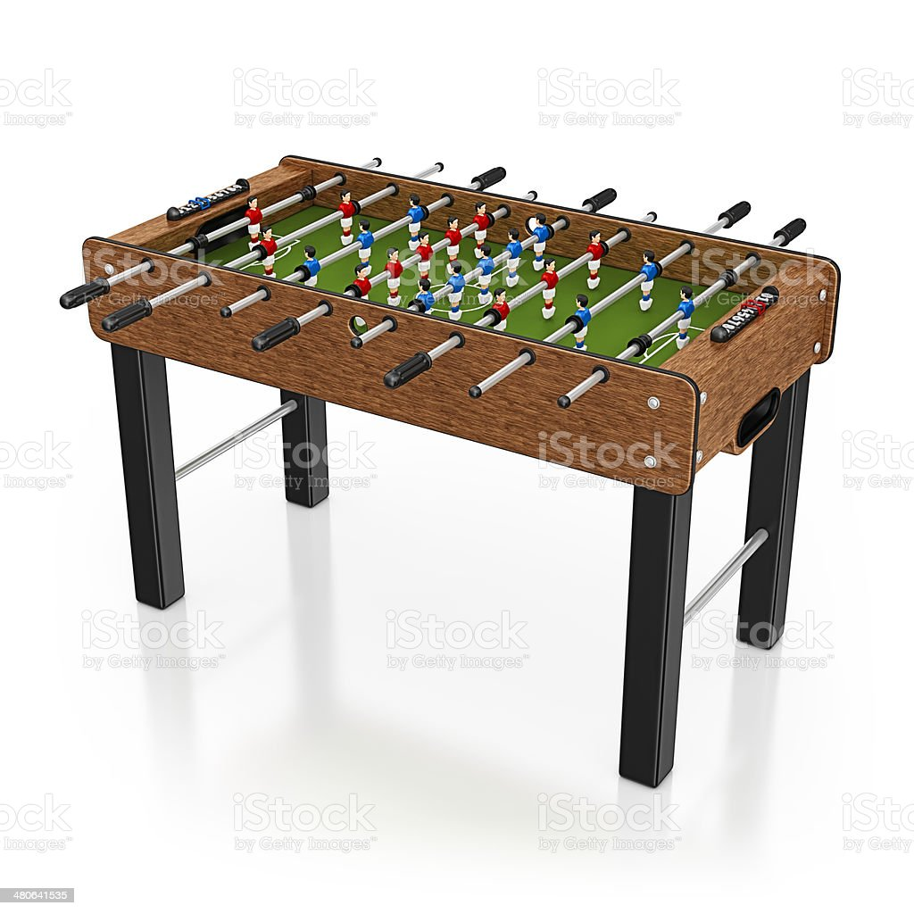 soccer table royalty-free stock photo