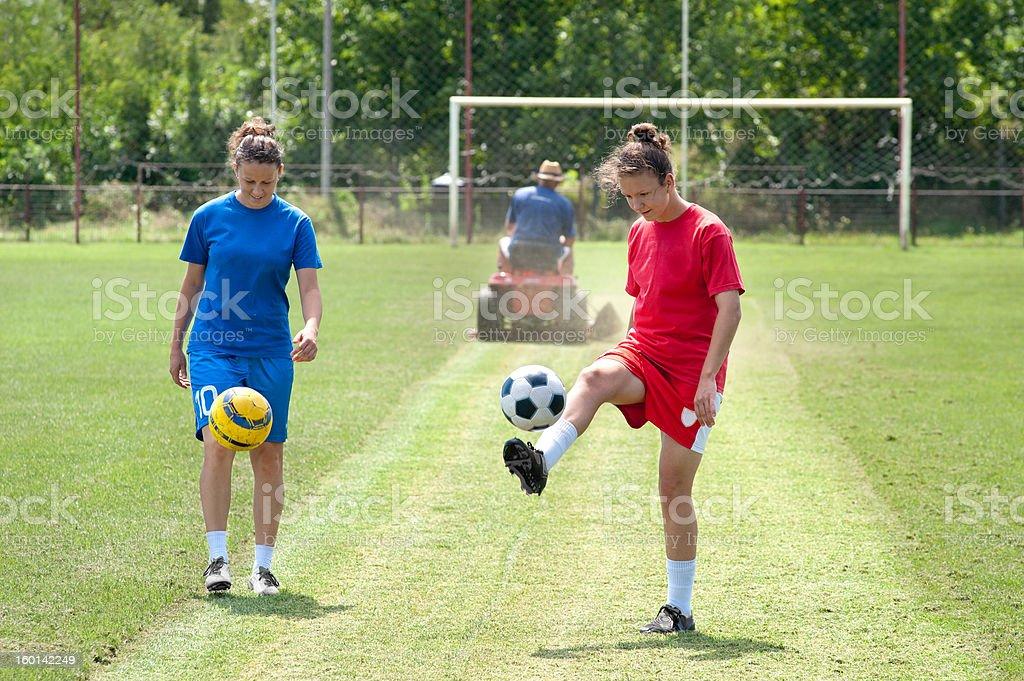 soccer training royalty-free stock photo
