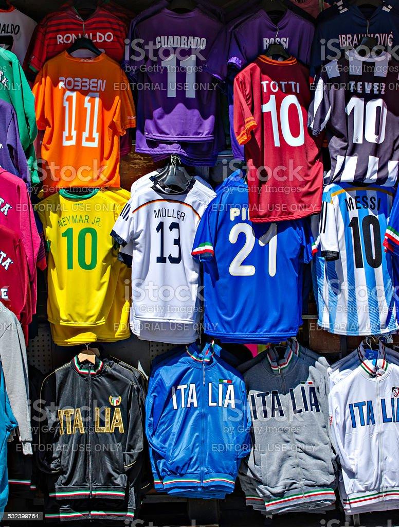 Soccer Uniform stock photo