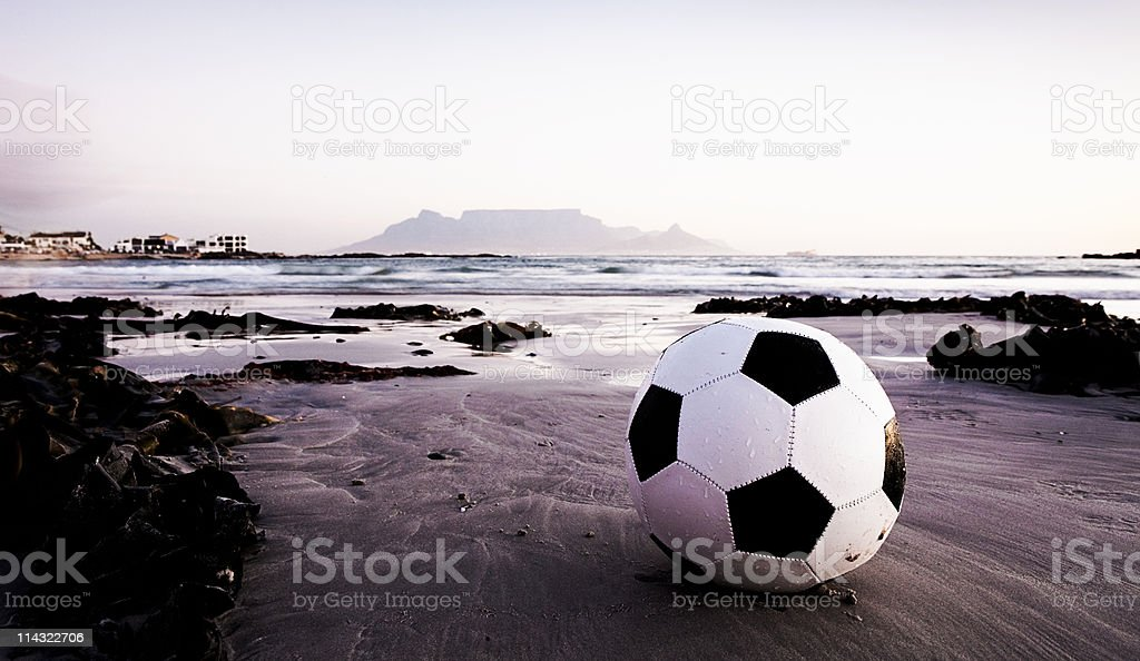Soccer world championships in South Africa stock photo