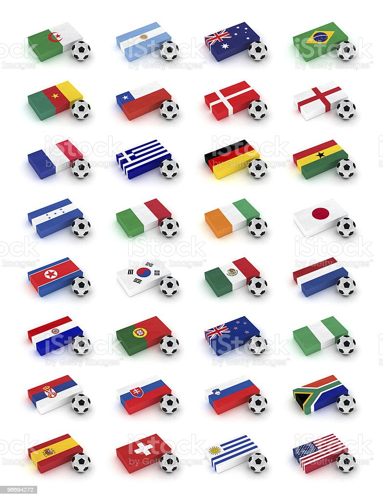 Soccer World Cup 2010 royalty-free stock photo