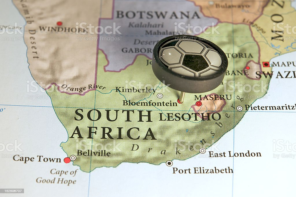Soccer World Cup South Africa 2010 royalty-free stock photo