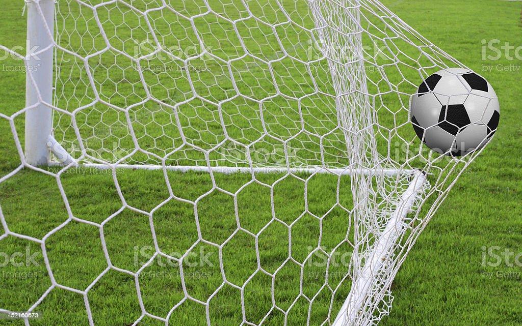 soccerball royalty-free stock photo